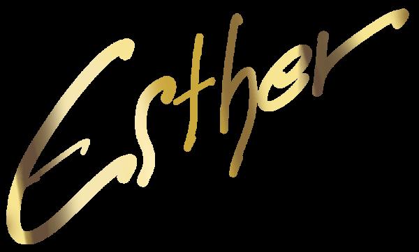 Beispiel einer Signatur in Echtgold