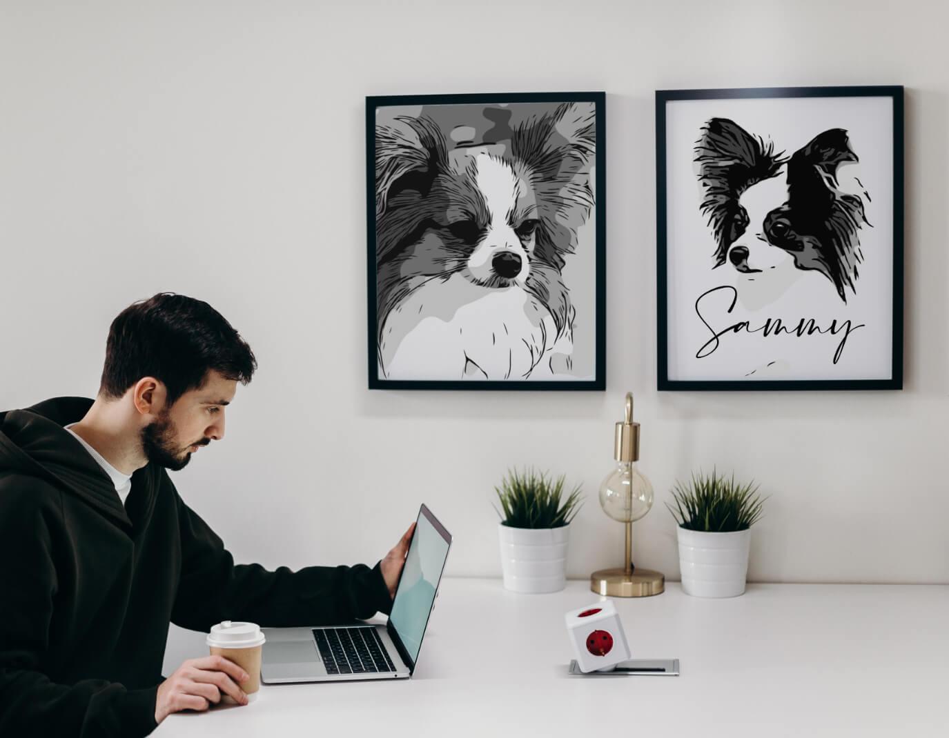 Tierportrait Hundeportrait 2