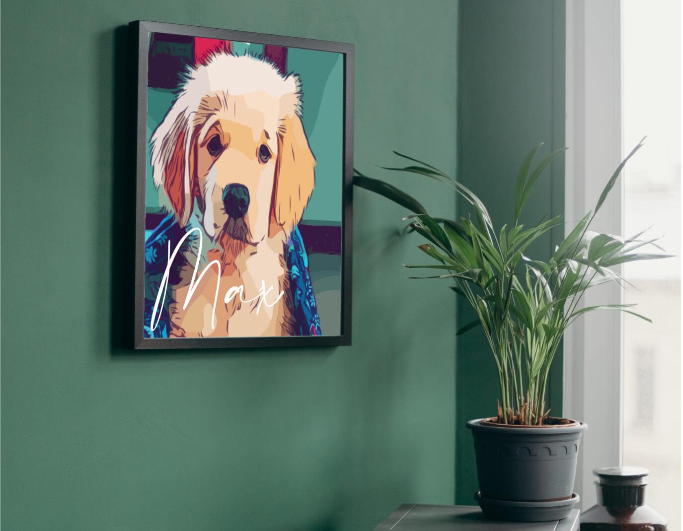 Tierportrait Hundeportrait 1