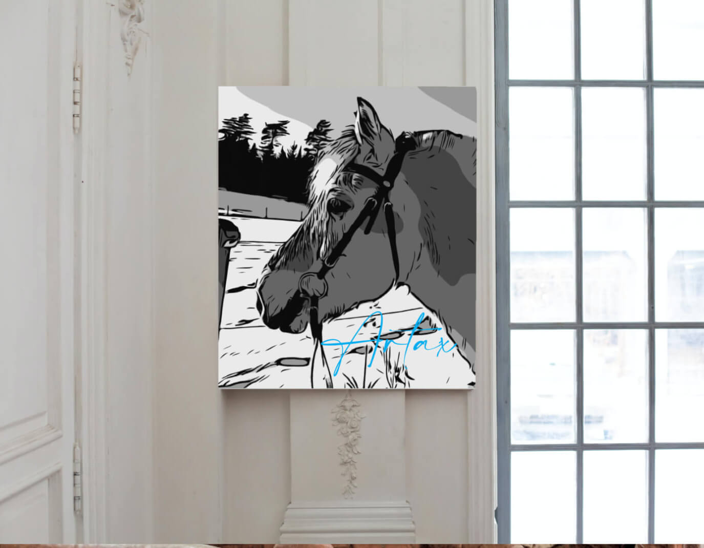 Tierportrait Pferdeportrait 1